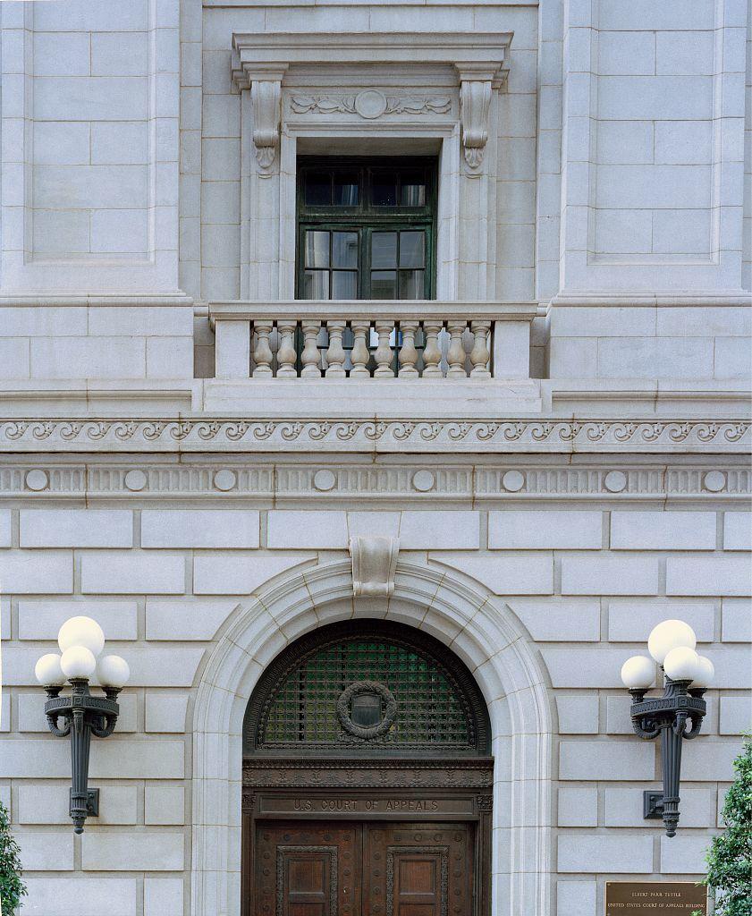 Photographs of the Elbert Parr Tuttle U.S. Court of Appeals building, 56 Forsythe Street, Atlanta, Georgia