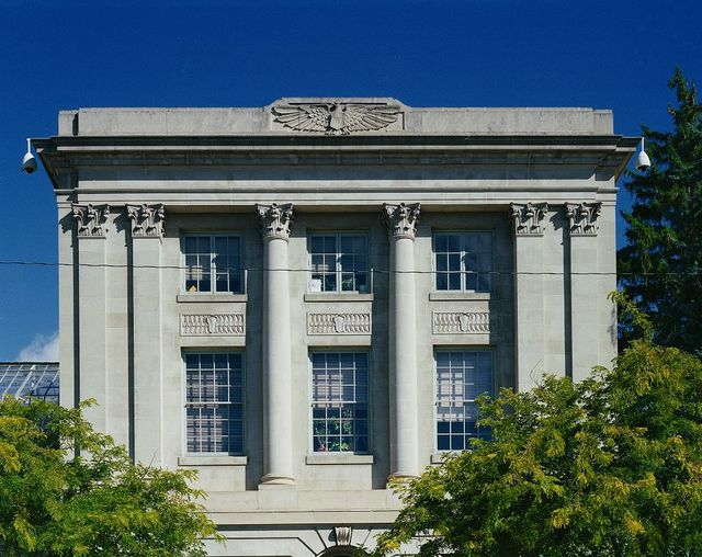 Photographs of the U.S. Post Office and U.S. Forest Service Building in Missoula, Montana