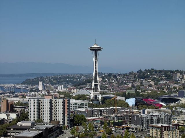 View of Space Needle, Seattle, Washington