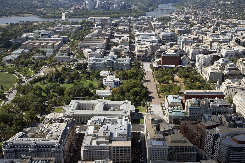Enjoyable Aerial View Of The White House And Old Executive Office Download Free Architecture Designs Scobabritishbridgeorg