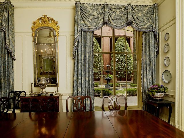 Blair-Lee dining room, Blair House, located across from the White House, Washington, D.C.