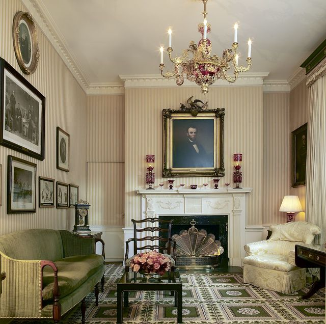 Lincoln room, Blair House, located across from the White House, Washington, D.C.