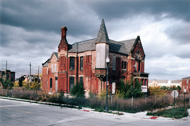 Ransom Gillis Mansion, Alfred at John R Streets, Detroit, 2007