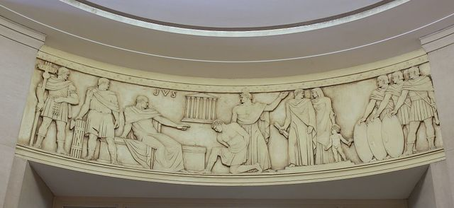"Sculpture ""Equity"" at Department of Justice, Washington, D.C."