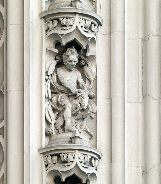 Architectural details, the Woolworth Building, New York, New York