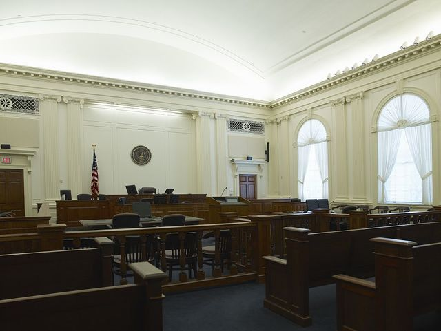 Courtroom, U.S. Courthouse, Tallahassee, Florida