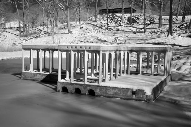 Philip Johnson's Glass House and Pavillion, New Canaan, Connecticut