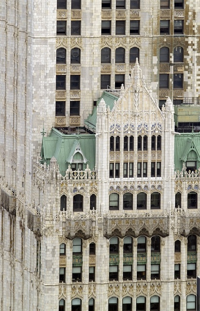 The Woolworth Building in New York City