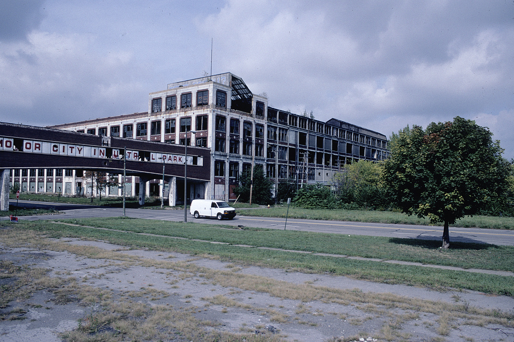 Former Packard Plant, E. Grand Blvd. at Concord, Detroit, 2009