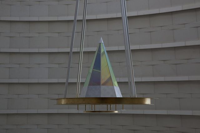 """Sculpture """"The Decisions"""" at the Robert T. Matsui U.S. Courthouse, Sacramento, California"""