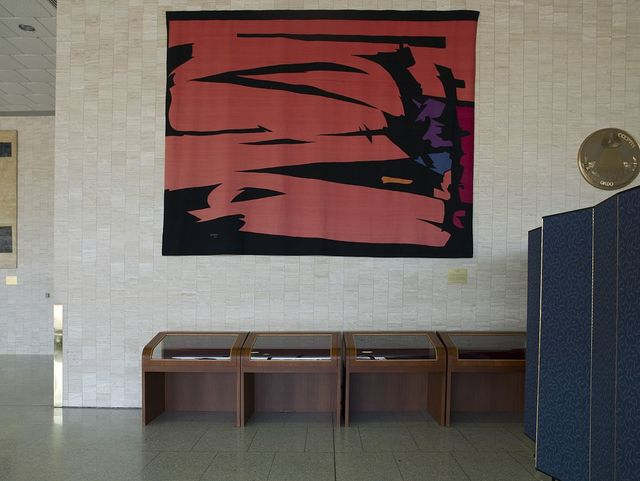 "Tapestry ""Symphony"" at the Hubert Humphrey Federal Building, Washington, D.C."