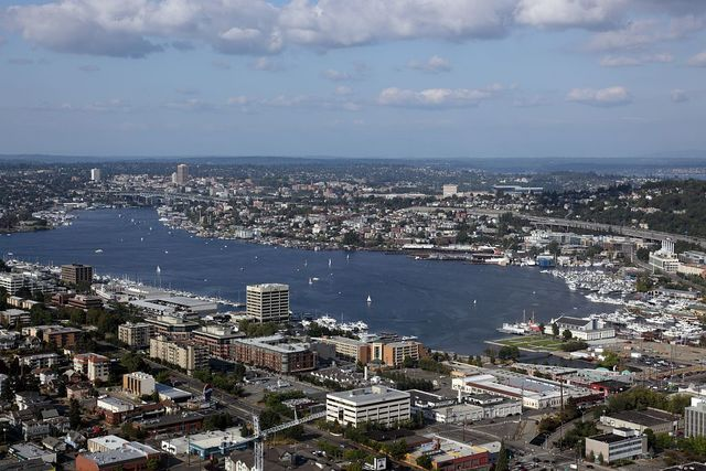 View of Lake Union, Seattle, Washington