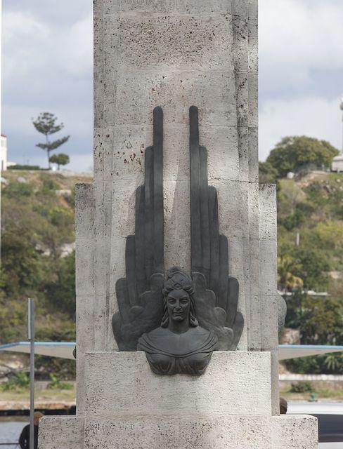 Beautiful memorials are everywhere in Havana, Cuba