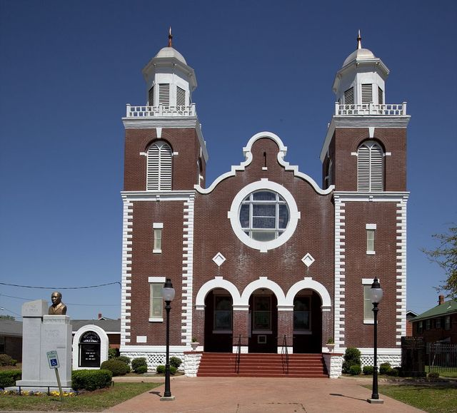Brown Chapel, headquarters for meetings during the Civil Rights movement, Selma, Alabama