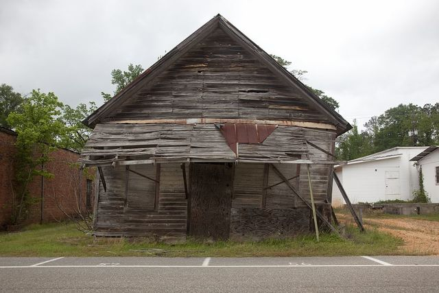 Burnt Corn, or Burnt Corn Spring, is a small unincorporated community in Monroe County, Alabama, on the border of Conecuh County