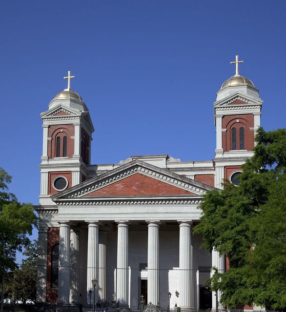 Cathedral Basilica of the Immaculate Conception is a cathedral serving Roman Catholics in Mobile, Alabama