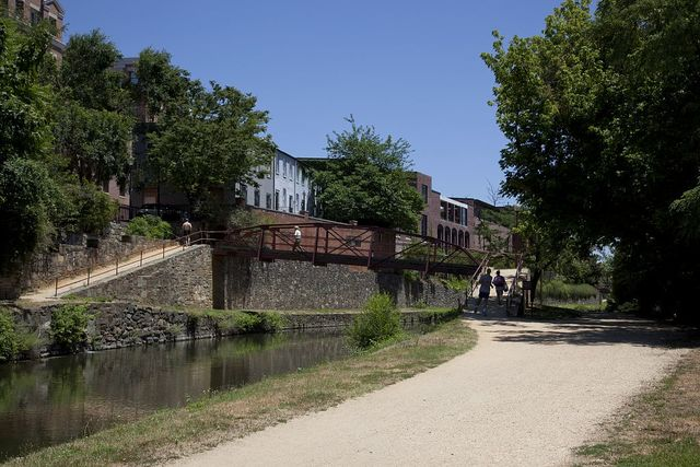 Chesapeake and Ohio Canal, Georgetown, NW., Washington, D.C.