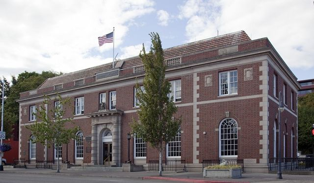Exterior, Richard B. Anderson Federal Building, Port Angeles, Washington