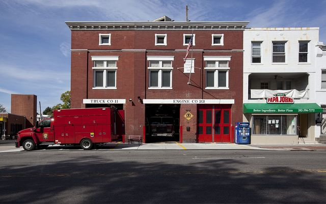 Fire station, Georgia Ave. near intersection with Missouri Ave., NW, Washington, D.C.