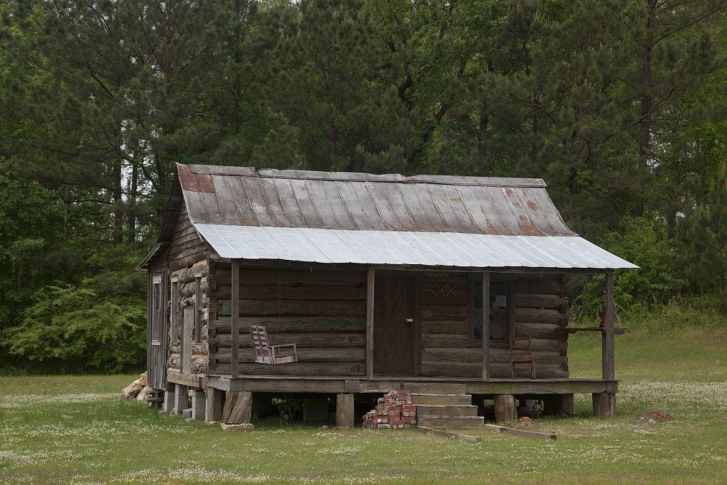 Historic buildings in Peterman, Alabama