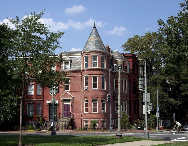 Historic house, Logan Circle, Washington, D.C.