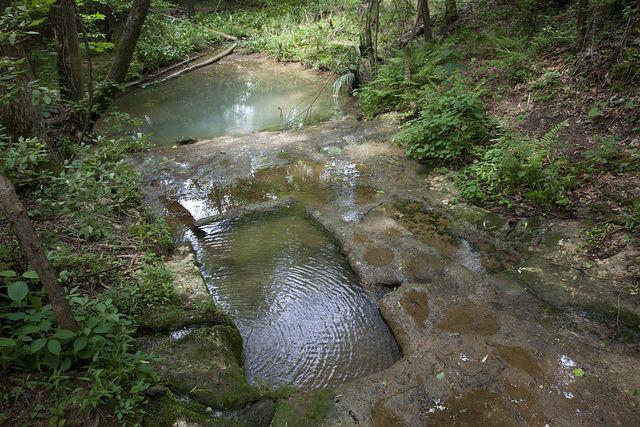 Indian baths at Old St. Stephens Park, St. Stephens, Alabama