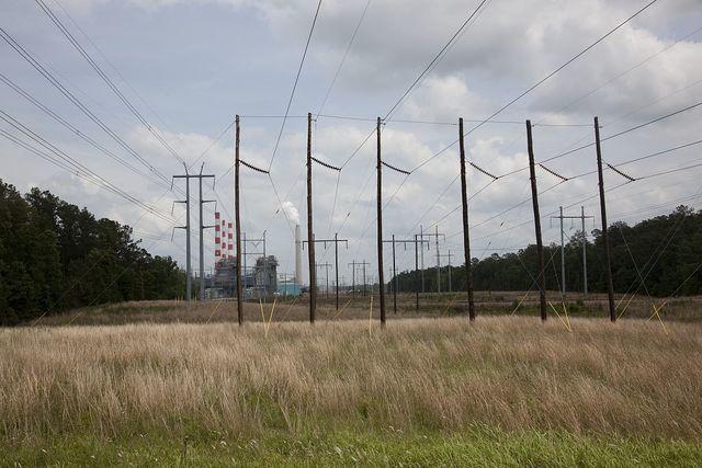 Industrial scene near Stockton, Alabama