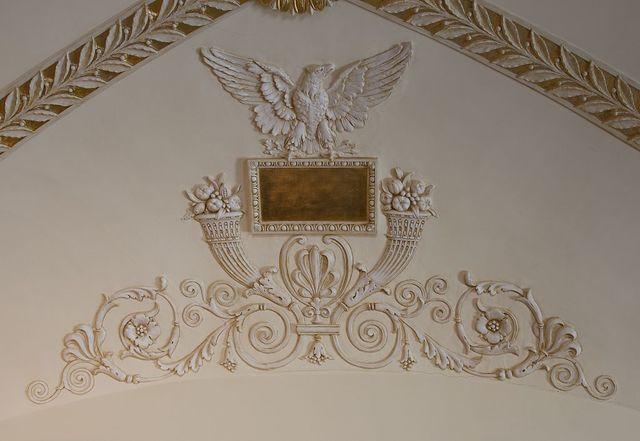 [Librarian's Room. Architectural ornamentation. Library of Congress Thomas Jefferson Building, Washington, D.C.]