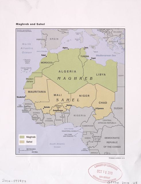 Maghreb and Sahel.