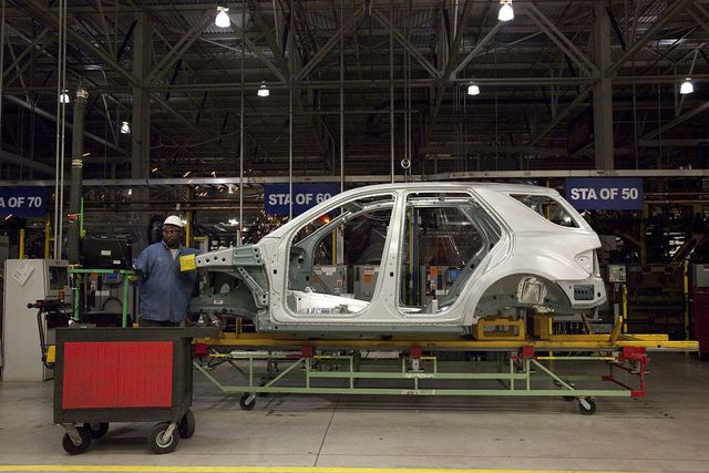 Mercedes-Benz U.S. International Plant located in Tuscaloosa County, Alabama