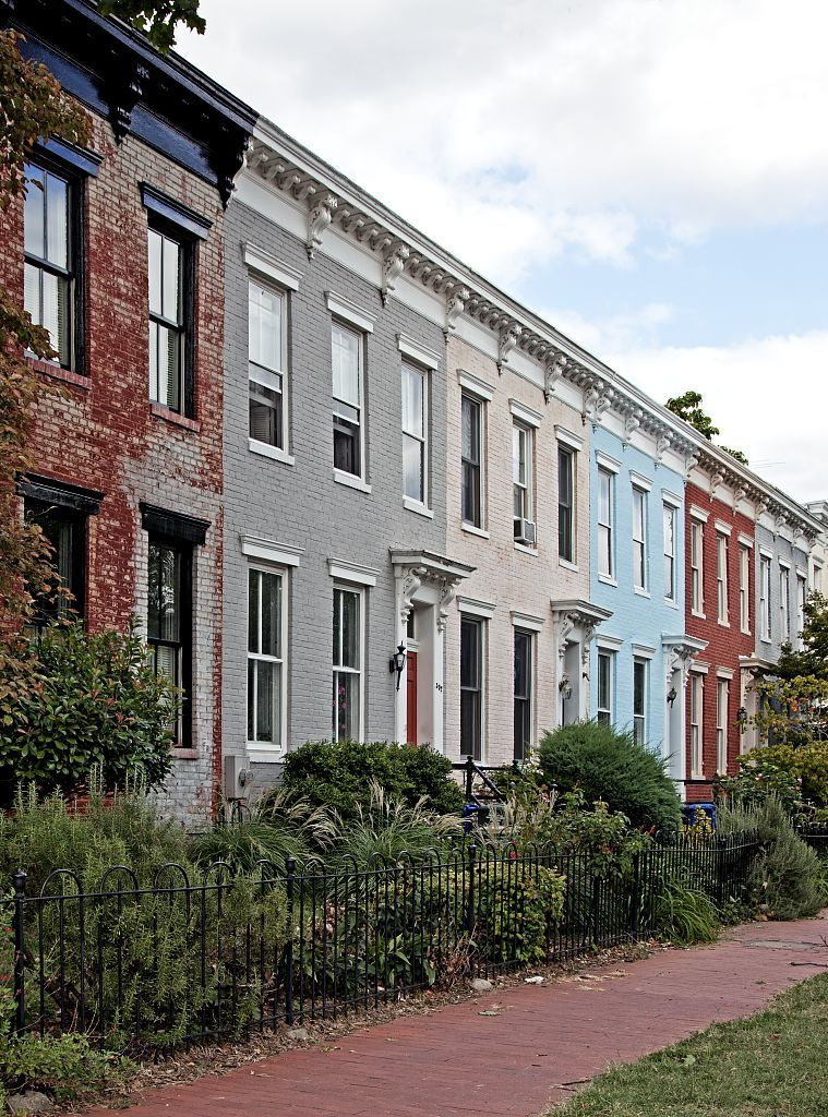 Row Houses 5th St And Independence Ave Se Washington D C