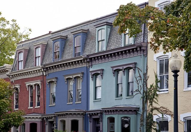 Row houses, 5th St. and Independence Ave., SE, Washington, D.C.