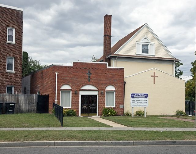 Saint Stephen Church of God in Christ, Kansas Ave. near intersection with Quincy St., NW, Washington, D.C.