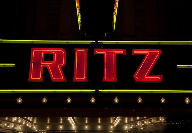 Sheffield is home to the Ritz Theater, a 1920's silent movie house that has been restored to its original grandeur