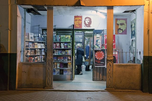 Small bookstore in Old Havana, Cuba