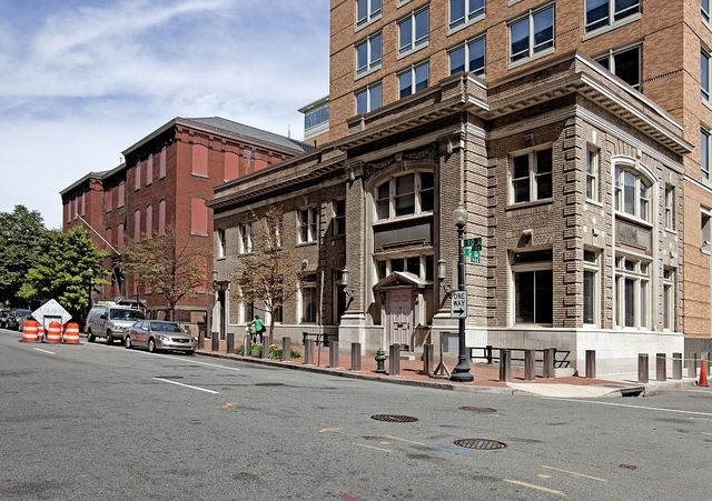 Small office building, Bud Doggett's Way and G Pl., NW, Washington, D.C.