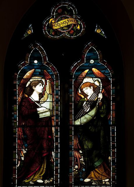 Stained glass windows, St. Paul's Episcopal Church, Selma, Alabama