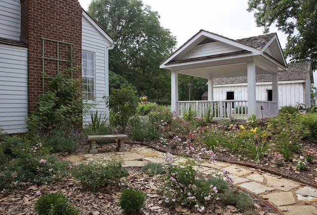The grounds and interiors of Ivy Green, the house where Helen Keller grew up, Tuscumbia, Alabama