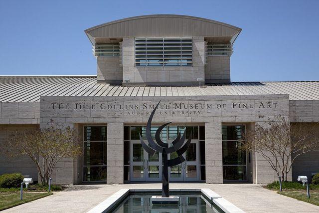 The Jule Collins Smith Museum of Fine Art, Auburn University, Auburn, Alabama