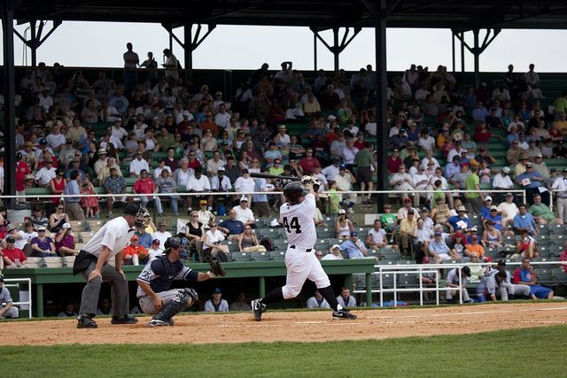 The Rickwood Classic baseball game is played once a year at Rickwood Ballpark located in Birmingham, Alabama