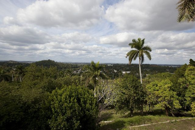 View from Ernest Hemingway's house in Cojimar, Cuba