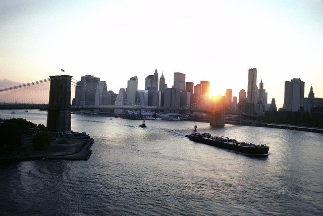 View from the Manhattan Bridge, 2010