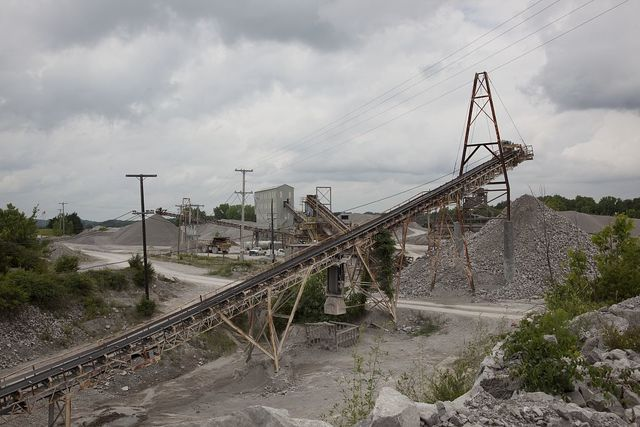 Vulcan Materials Company limestone quarry, Tuscumbia, Alabama