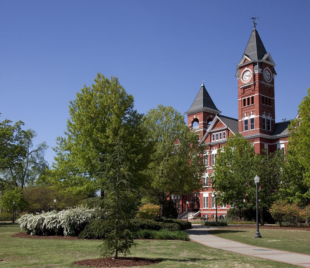 William J  Samford Hall is a structure on the campus of