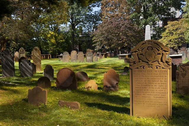 Ancient cemetery, Hartford, Connecticut