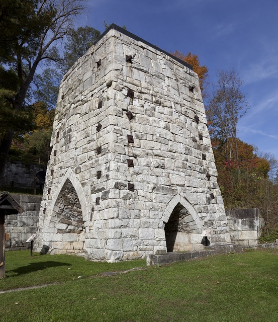 Beckley Furnace, Canaan, Connecticut