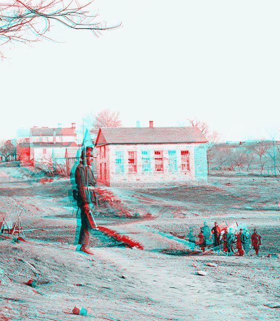 [Centreville, Va. Stone church during the Civil War]