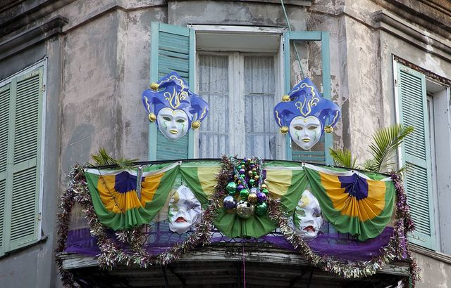 Details in the French Quarter of New Orleans, Louisiana