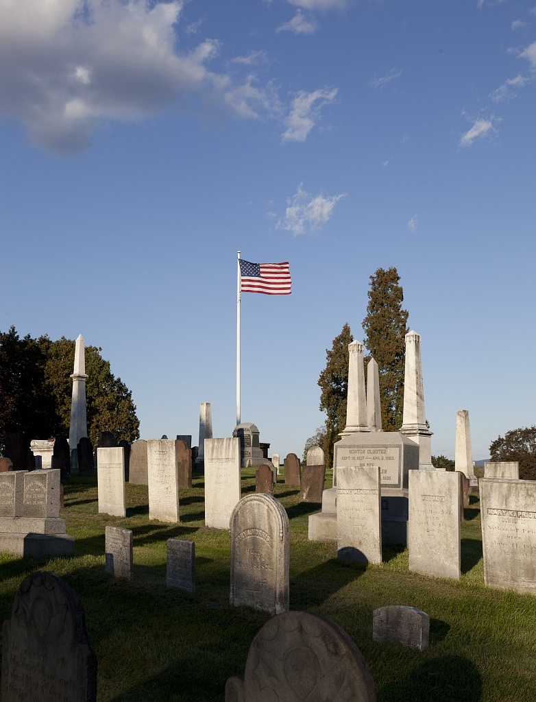 Enfield Street Cemetery in Thompsonville, Connecticut