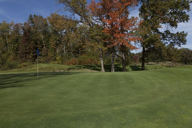 Gillette Golf Course, at Cigna business park, Bloomfield, Connecticut